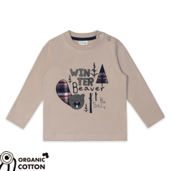 "Sweater "" Winter Beaver"""