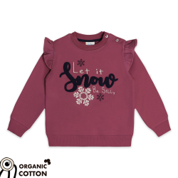 "Sweatshirt "" Let it snow"""