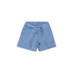 """Denim Bow"" Shorts"