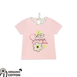 """Summer Flowers"" T-shirt"